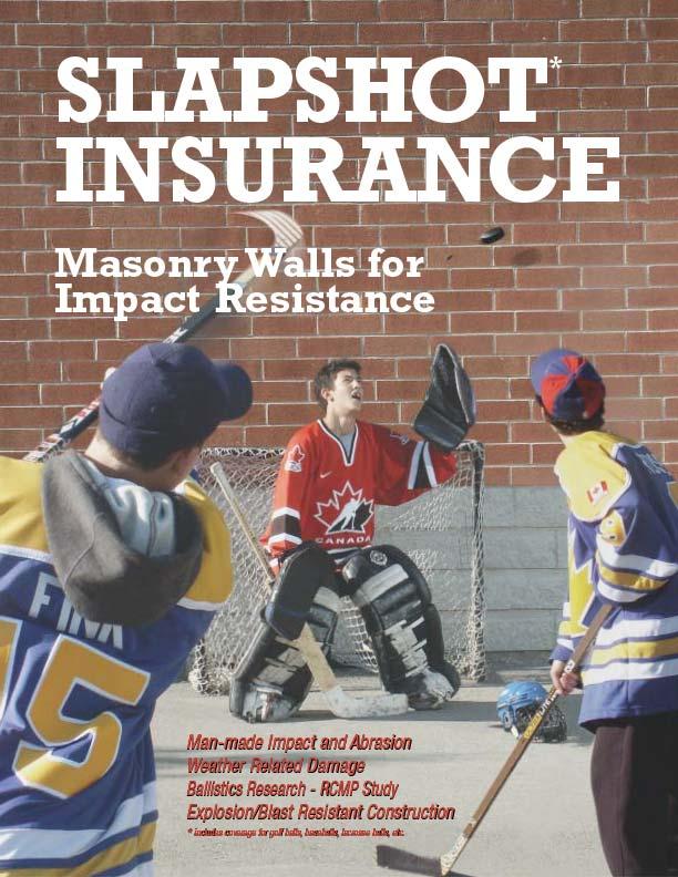 Clay Brick Walls for Slapshot Insurance